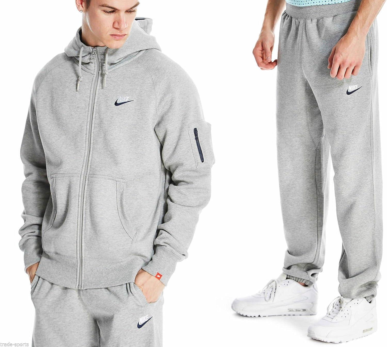 Nike Sweat – Chándal para hombre color: gris – suave Calidad ...
