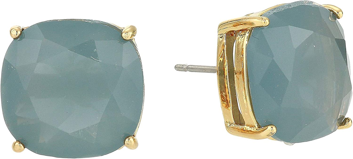 278653229dc0 Amazon.com: Kate Spade New York Women's Small Square Studs Earrings Purple  One Size: Jewelry