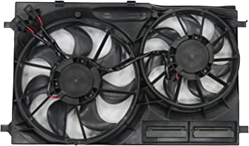 Radiator Cooling Fan Dual Fan 3.5L, Turbo or Non-Turbo for 2015 Ford F-150