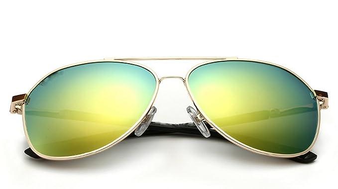 Wkaijc Männer Bunt Polarisiert High-End Mode Kreativität Individualität Komfort Jurte Sonnenbrille,A