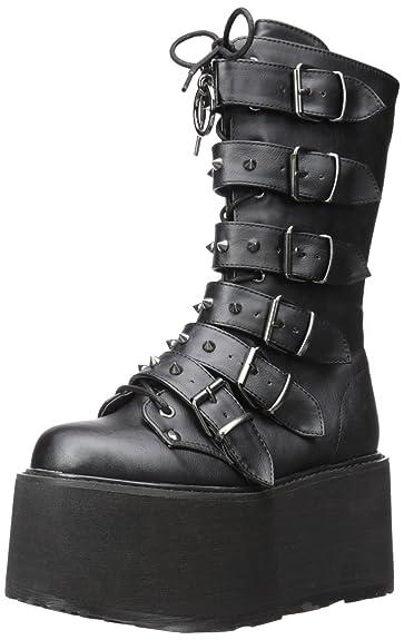 edee61902717d Demonia Damned 225 Stiefel Schwarz: Amazon.de: Schuhe & Handtaschen