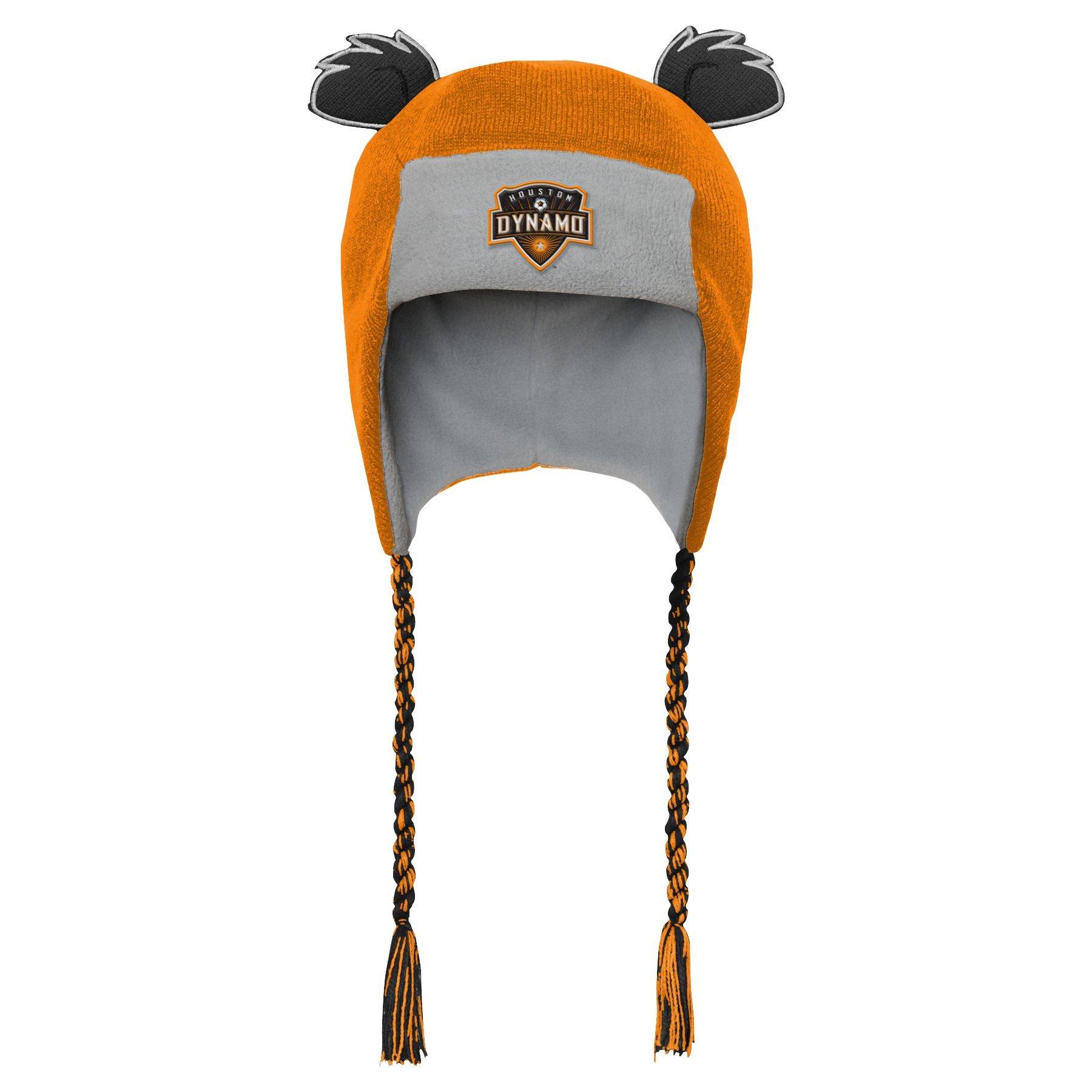 Outerstuff MLS Houston Dynamo R S47DL Boys Ears Trooped Hat, One Size, Orange