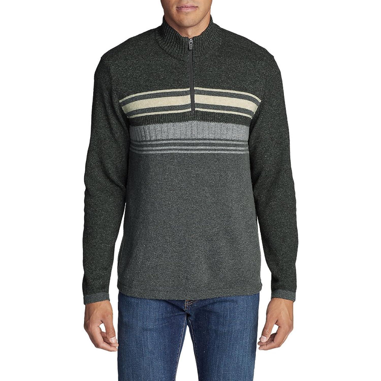 Men's Ski Stripe 1/4-Zip Sweater