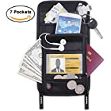 Neck Stash Pouch,Tensun Passport Holder Wallet w/ RFID Blocking Security Travel Document Pouch