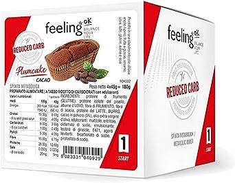 CiaoCarb - ProtoCake (Pastel de proteína) - 45g - Chocolate, Unidad