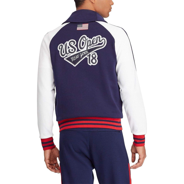 Polo Ralph Lauren Mens US Open Double Knit Shawl Cardigan Jacket