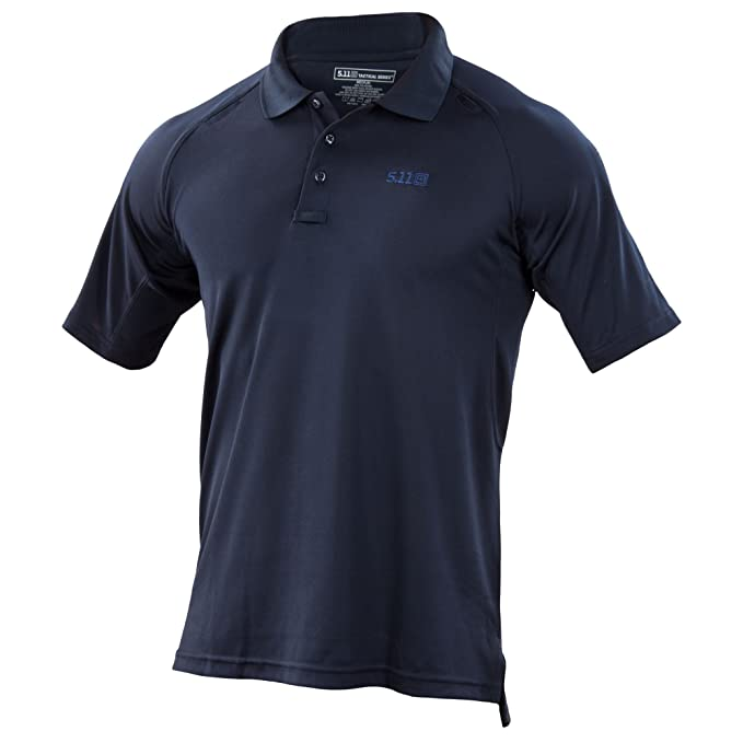 5.11 Herren Performance Polo Short Sleeve Shirt mit Emblem: Amazon.de:  Sport & Freizeit