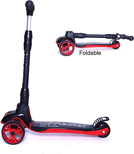Voyage Sports Kick Scooter,X7, Foldable Handlebar with Light Up Wheel