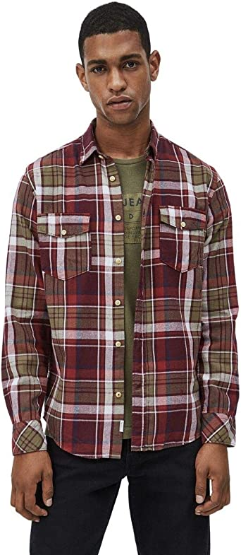 Pepe Jeans Camisa Chester Multi: Amazon.es: Ropa