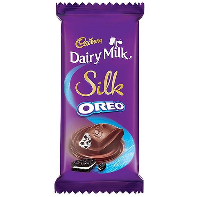 Cadbury Dairy Milk Silk Oreo Chocolate Bar, 60g