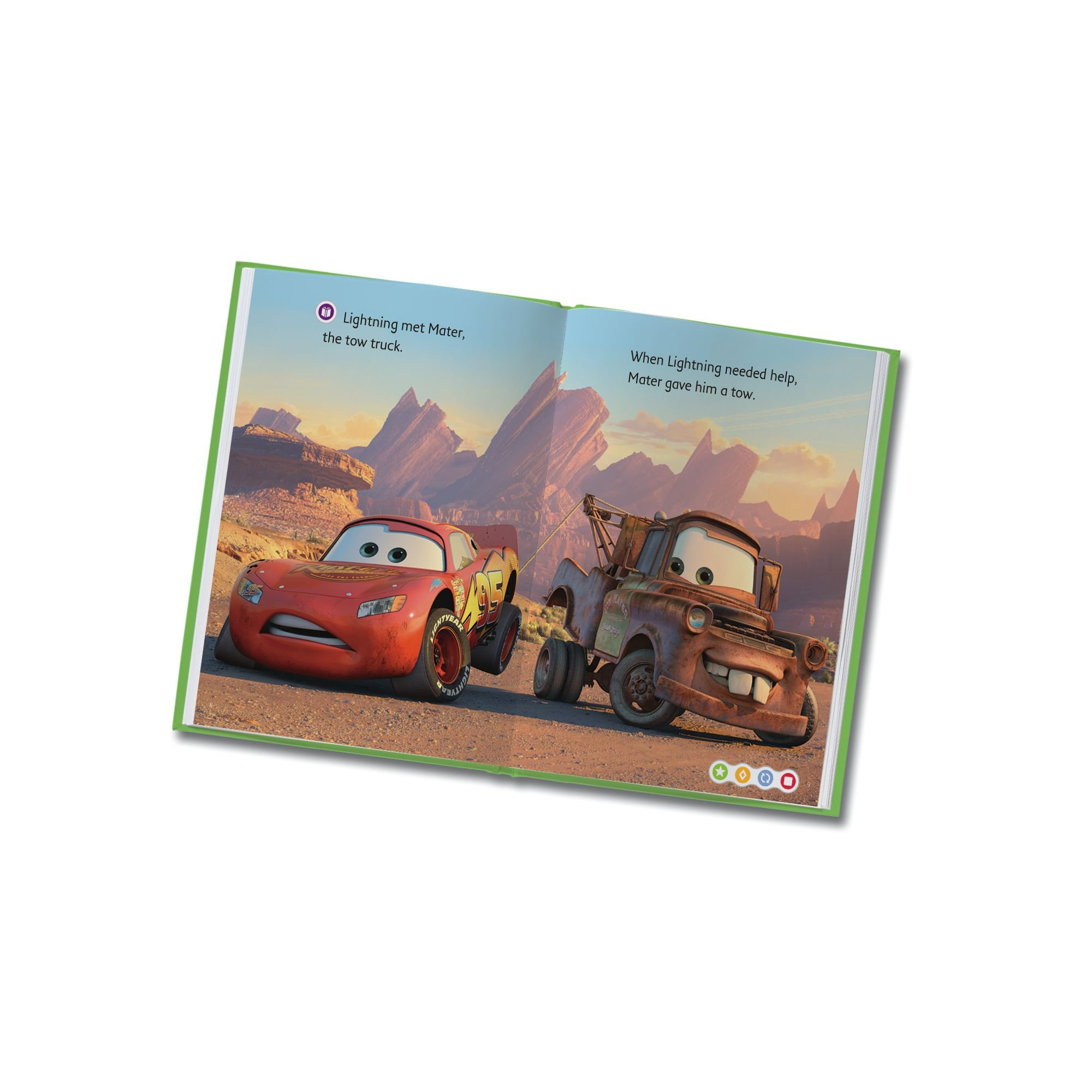 LeapFrog LeapReader Book: Disney·Pixar Cars: Racing Adventures (works with Tag) by LeapFrog (Image #7)