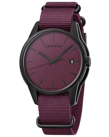 Calvin Klein TONE K7K514UP Reloj elegante para hombres Fabricado en Suiza