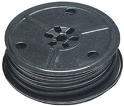 Amazon.com: 25\' 2-Conductor Flat Mini Wire, Black, 28 Gauge by ...