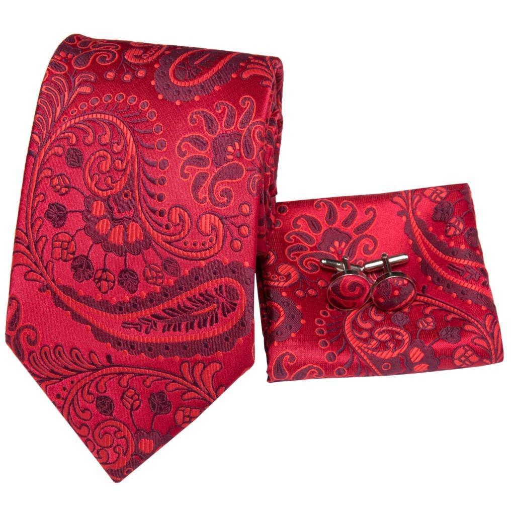 AK Corbata de boda para hombre Sn-3194 Paisley Corbatas para ...