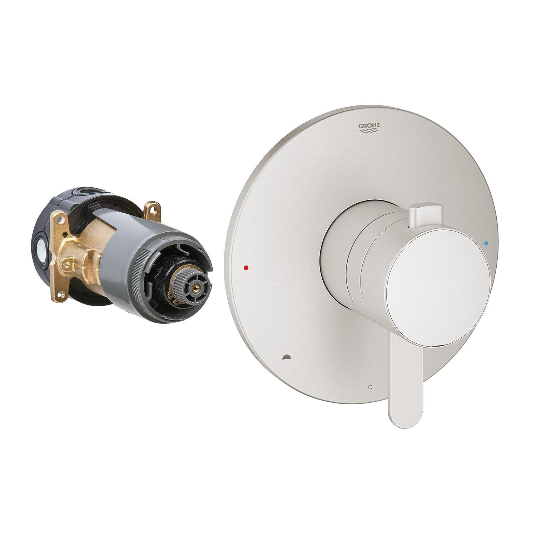 Grohflex Cosmopolitan Dual Function Pressure Balance Trim With Control Module