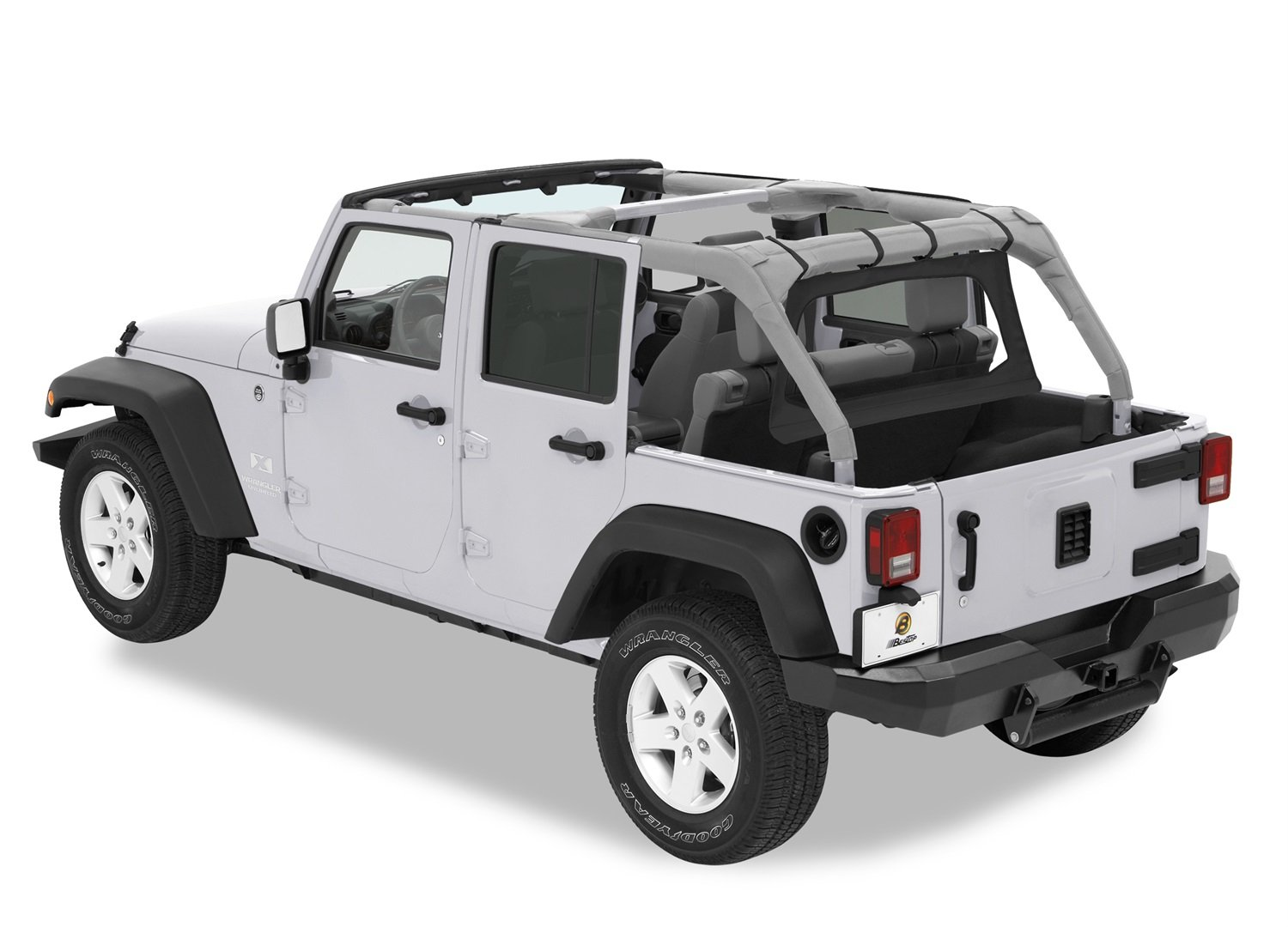 Amazon.com: Bestop 80039 35 Black Diamond Windjammer Wind Break For  2007 2018 Wrangler JK Unlimited: Automotive