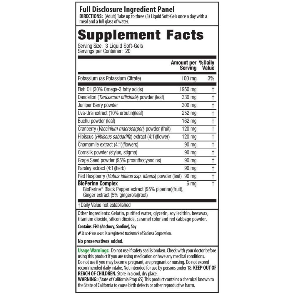 Irwin Naturals Bloat-Away Relief Water Balance Support Replenish Electrolytes & Essential Minerals - 60 (180 Total) Soft-Gels - 3 Pack Bundle with a Lumintrail Pill Case by Irwin Naturals (Image #2)