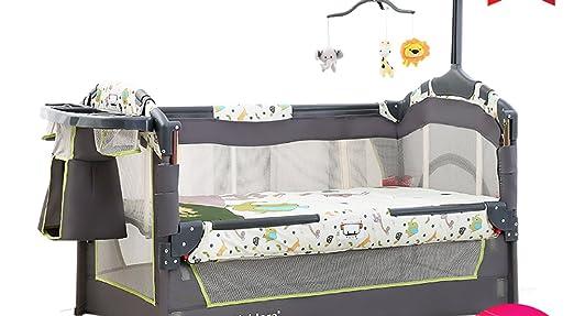 XFF Portátil Plegable/Cuna/Multiuso bebé Cama BB Cama Costura Cama Grande Recién Nacido Cuna,A,CM: Amazon.es: Deportes y aire libre
