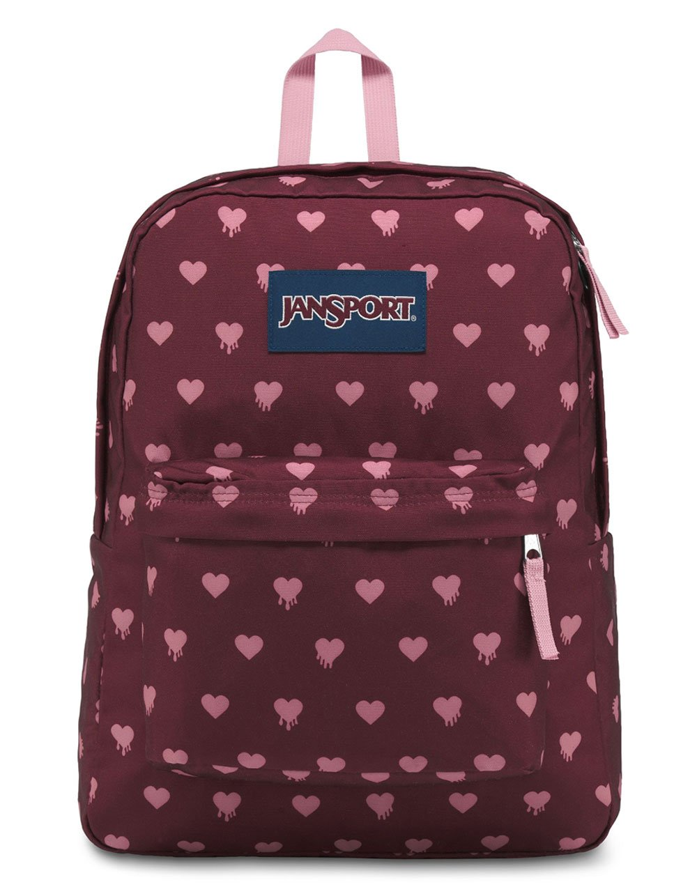 JanSport Unisex SuperBreak Russet Red Bleeding Hearts One Size by JanSport