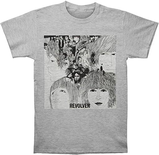The Beatles Revolver World Tour 66 John Lennon Officiel T-Shirt Hommes Unisexe