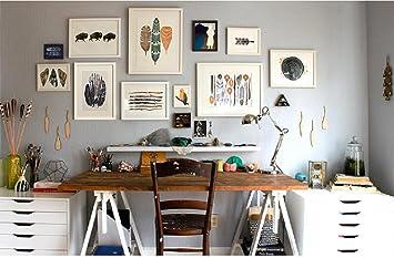 Wandtattoo Korea Ideen Von Wohnzimmer Massivholz Mauer Foto Dekoration  Bilderrahmen Kombination Keilrahmen Wandtattoo Wand Gesicht 2