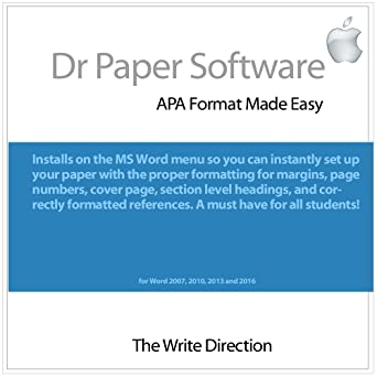 amazon com dr paper software apa format made easy mac download