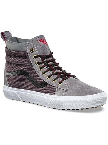 b433418897 Vans Sk8-hi Mte -Fall 2017-(VA33TXOGS) - Frost Grey - 9.5  Amazon.co.uk   Shoes   Bags