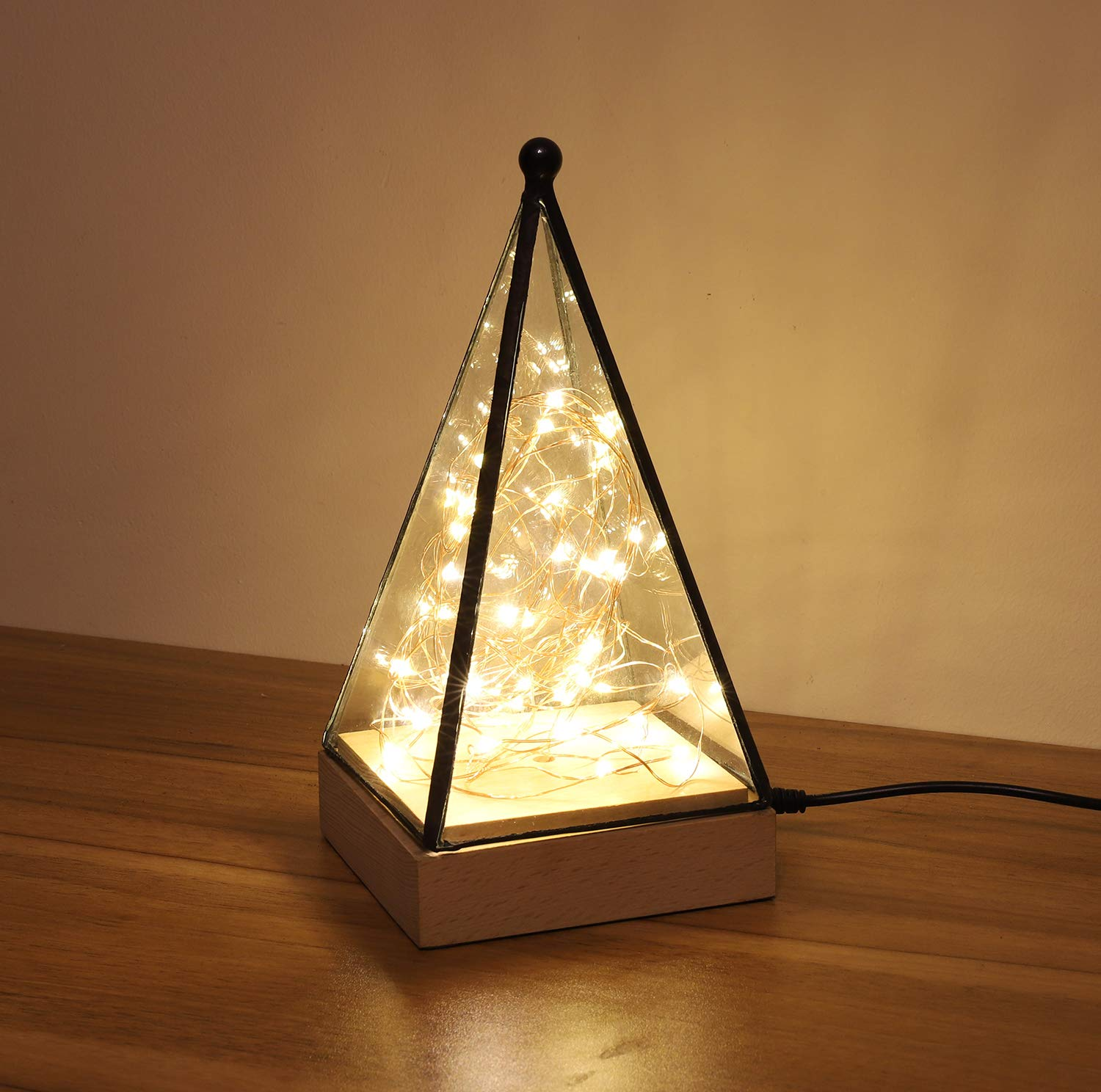 Night Light Lamp LED, Decorative Lamp For Bedroom and Living Room Fairy String Lights Warm White For Girls