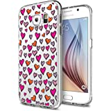 MTT Designer pattern printed Soft Jelly back case cover for Samsung Galaxy S6 (Design75)
