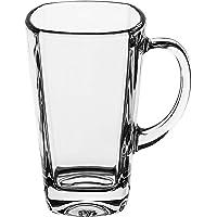 Luminarc Glass Sterling Tea Mug, Set of 6 - Clear