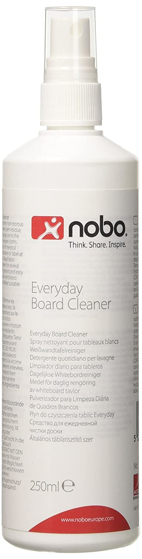 Nobo - Spray limpiador para pizarras blancas (250 ml)
