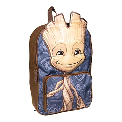 Dos Guardians Galaxy BleueMarron Of Groot The Sac Baby Marvel à TvwOqO