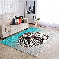 tapis salon tête de mort 12