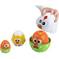 Bright Child Chicken & Egg Stacking Cup