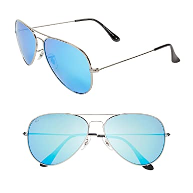 "63992fe6897 Amazon.com  PRIVÉ REVAUX ""The Commando"" Polarized Aviator Sunglasses ..."