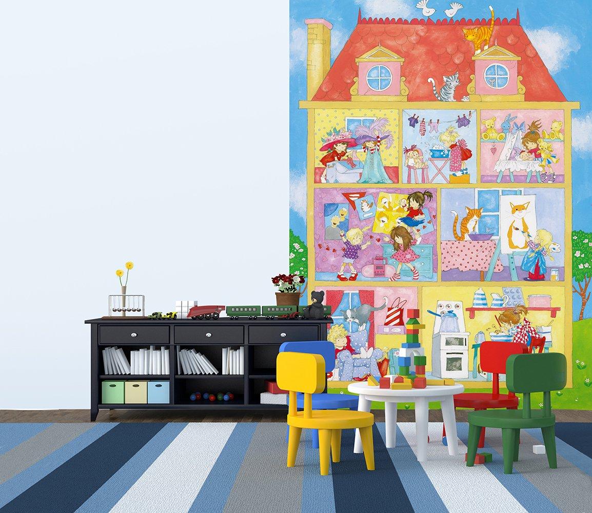 Ideal Decor Its A Girls World Wall Mural