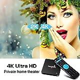 Android 7.1 TV Box, SMALLRT X2 4K HD Smart TV Box