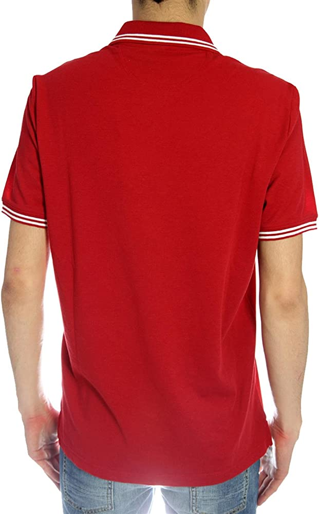 Champion - Polo - para Hombre Rojo Rojo Talla:Medium: Amazon.es ...