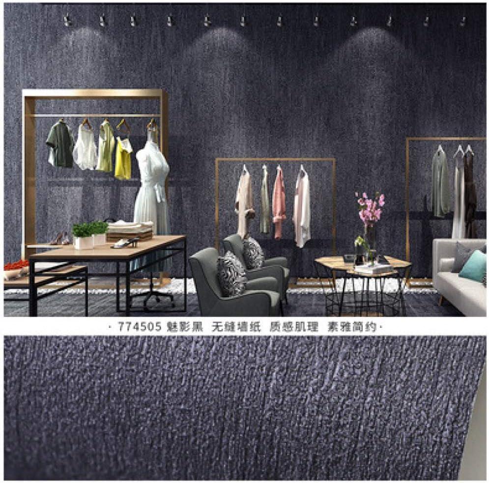 Color sólido simple impermeable azul pavo real papel tapiz sala de ...