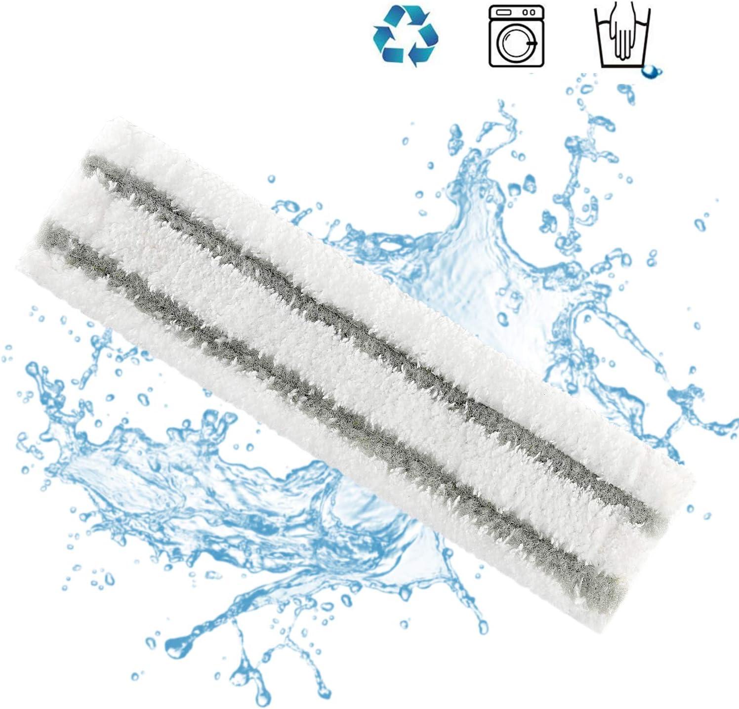 Isincer Almohadilla de trapeador de Microfibra de Repuesto para limpiacristales Kärcher WV 2 Premium (Plus), WV 5 Premium (Plus) Interior, 2.633-130.0: Amazon.es: Hogar