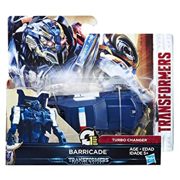 Transformers - Turbo Charger Vehicle - Barricade