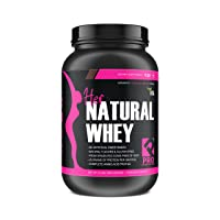 Protein Powder for Women - Her Natural Whey Protein Powder for Weight Loss & to Support Lean Muscle Mass - Low Carb - Gluten Free - rBGH Hormone Free, Sweetened w/Stevia (Chocolate Delight, 2 lb)