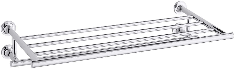 Kohler K-14381-CP Purist Towel Shelf, Polished Chrome