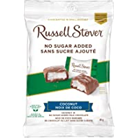Russell Stover Coconut No Sugar Added Milk Chocolate Bag, 85g