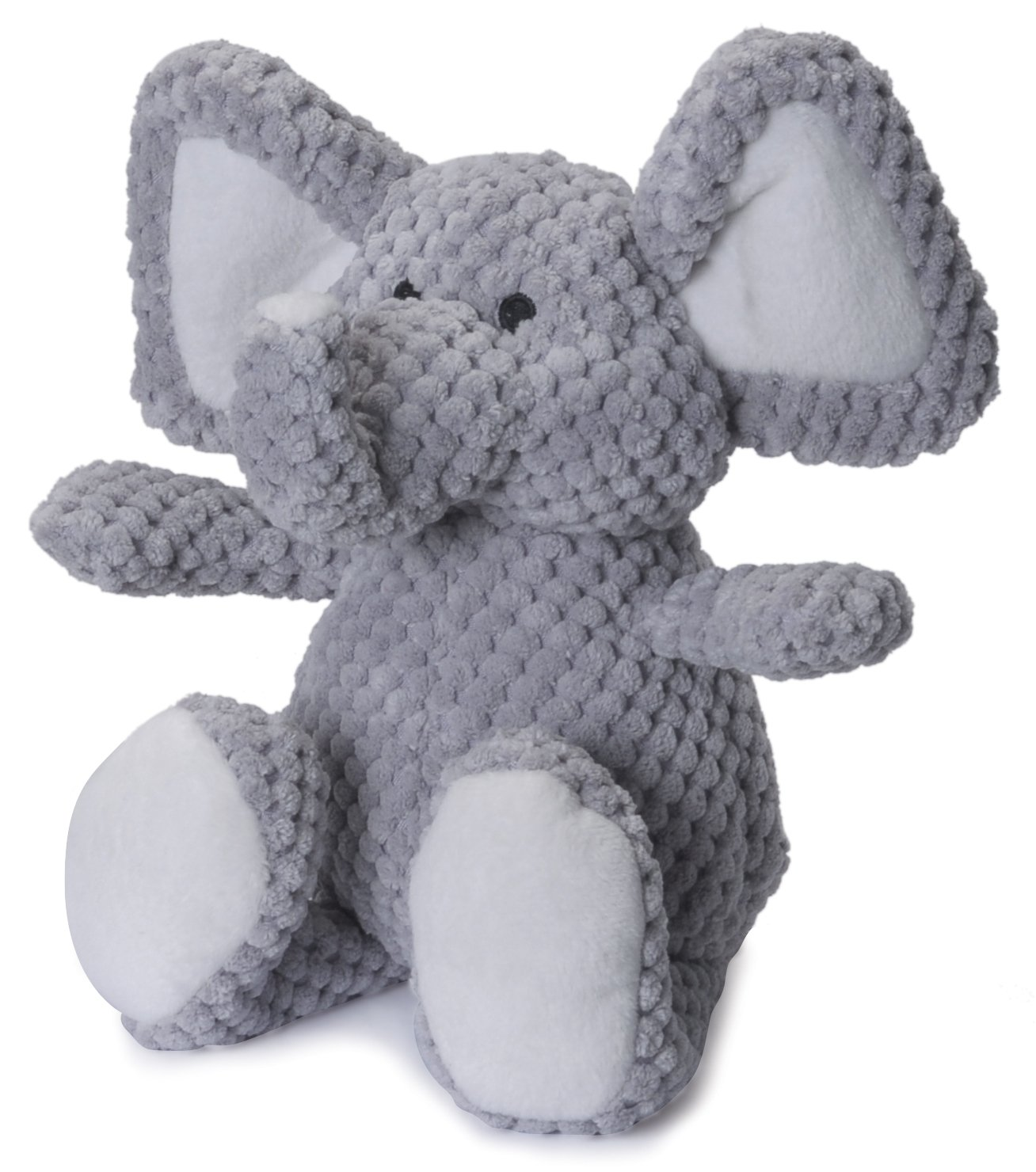 Pet Supplies Pet Chew Toys goDog Checkers Elephant With Chew
