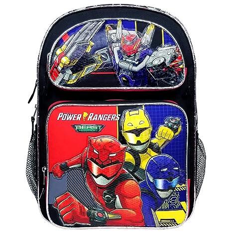 Power Morphers Rangers Beast Large Backpack #PR43684