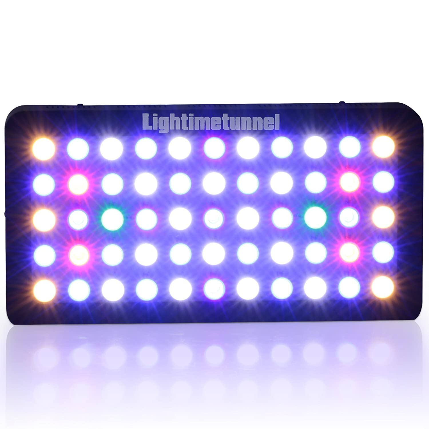 Aquarium lighting for plants - Amazon Com Lightimetunnel 165w Led Aquarium Light Full Spectrum Dimmable Hood Lighting For Lps Sps Coral Reef Fish Tank Pet Supplies