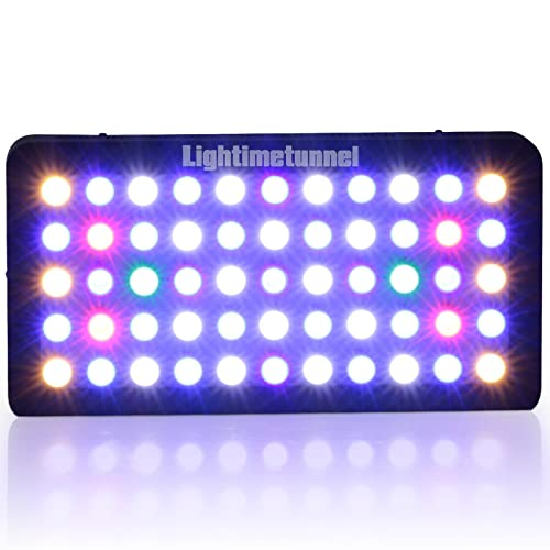 Lightimetunnel 165w LED light for LPS SPS coral reef
