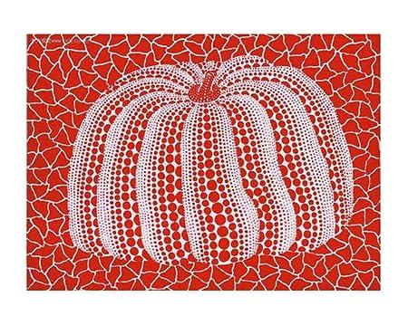 ZTHHS Cartel del Arte Yayoi Kusama Resumen de Calabaza, Sala ...