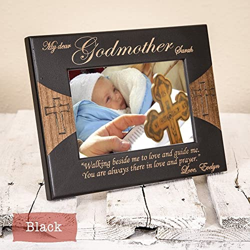godmother frame personalized godmother gifts godmother picture frame from godchild